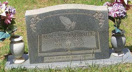 BRISTER, ALMA MARIA - Walthall County, Mississippi   ALMA MARIA BRISTER - Mississippi Gravestone Photos
