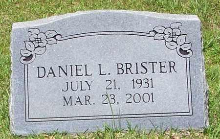 BRISTER, DANIEL L - Walthall County, Mississippi | DANIEL L BRISTER - Mississippi Gravestone Photos