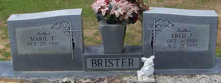 BRISTER, FRED J - Walthall County, Mississippi | FRED J BRISTER - Mississippi Gravestone Photos
