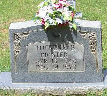 BRISTER, THERESA B - Walthall County, Mississippi | THERESA B BRISTER - Mississippi Gravestone Photos