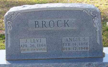 BROCK, J LEVI - Walthall County, Mississippi | J LEVI BROCK - Mississippi Gravestone Photos