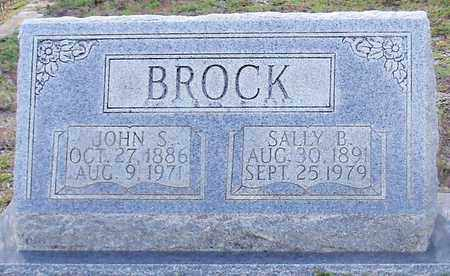 BROCK, SALLY B - Walthall County, Mississippi | SALLY B BROCK - Mississippi Gravestone Photos