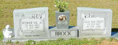BROCK, SEYMOUR VOL JR - Walthall County, Mississippi | SEYMOUR VOL JR BROCK - Mississippi Gravestone Photos