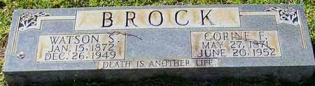 BROCK, WATSON S - Walthall County, Mississippi | WATSON S BROCK - Mississippi Gravestone Photos