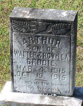 BRODIE, ARTHUR - Walthall County, Mississippi | ARTHUR BRODIE - Mississippi Gravestone Photos