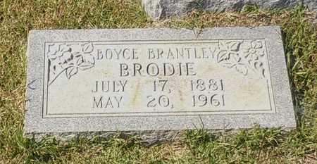 BRODIE, BOYCE BRANTLEY - Walthall County, Mississippi   BOYCE BRANTLEY BRODIE - Mississippi Gravestone Photos