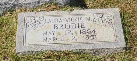 BRODIE, LAURA VICKIE M - Walthall County, Mississippi | LAURA VICKIE M BRODIE - Mississippi Gravestone Photos