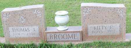 BROOME, KITTY E - Walthall County, Mississippi | KITTY E BROOME - Mississippi Gravestone Photos