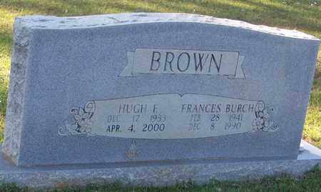 BROWN, HUGH F - Walthall County, Mississippi | HUGH F BROWN - Mississippi Gravestone Photos