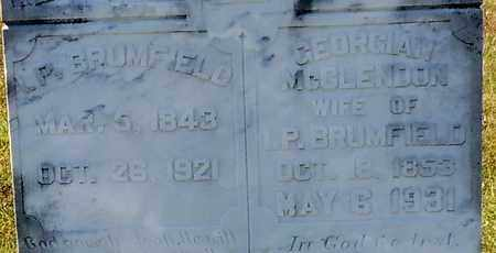 BRUMFIELD (CLOSE UP), ISAAC PRESTON - Walthall County, Mississippi | ISAAC PRESTON BRUMFIELD (CLOSE UP) - Mississippi Gravestone Photos