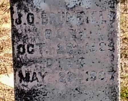 BRUMFIELD, J O - Walthall County, Mississippi | J O BRUMFIELD - Mississippi Gravestone Photos