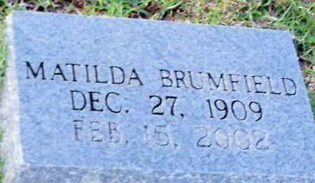 BRUMFIELD, MATILDA - Walthall County, Mississippi | MATILDA BRUMFIELD - Mississippi Gravestone Photos