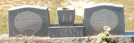 BRYANT, WILLIAM ALPHEUS - Walthall County, Mississippi | WILLIAM ALPHEUS BRYANT - Mississippi Gravestone Photos