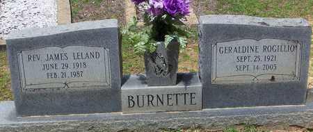 BURNETTE, JAMES LELAND REV - Walthall County, Mississippi | JAMES LELAND REV BURNETTE - Mississippi Gravestone Photos