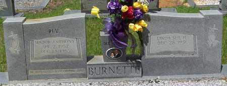 BURNETTE, MAJOR ANTHONY REV - Walthall County, Mississippi | MAJOR ANTHONY REV BURNETTE - Mississippi Gravestone Photos