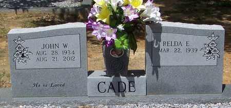 CADE, JOHN WILLIAM - Walthall County, Mississippi | JOHN WILLIAM CADE - Mississippi Gravestone Photos