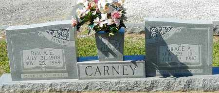 CARNEY, GRACE - Walthall County, Mississippi | GRACE CARNEY - Mississippi Gravestone Photos