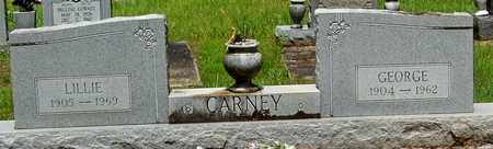 CARNEY, LILLIE - Walthall County, Mississippi | LILLIE CARNEY - Mississippi Gravestone Photos
