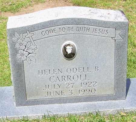 CARROLL, HELEN ODELL B - Walthall County, Mississippi | HELEN ODELL B CARROLL - Mississippi Gravestone Photos