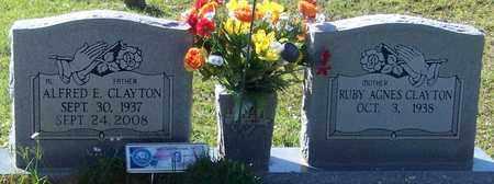 """CLAYTON, ALFRED E """"AL"""" - Walthall County, Mississippi   ALFRED E """"AL"""" CLAYTON - Mississippi Gravestone Photos"""