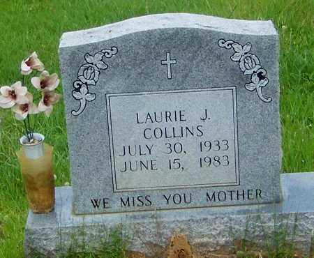 COLLINS, LAURIE J - Walthall County, Mississippi | LAURIE J COLLINS - Mississippi Gravestone Photos