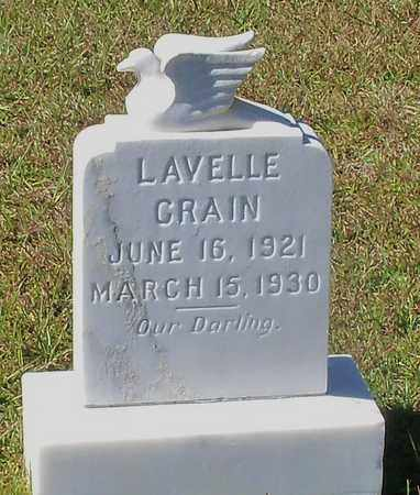 CRAIN, LAVELLE - Walthall County, Mississippi   LAVELLE CRAIN - Mississippi Gravestone Photos