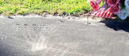 DAVIS, WILLIAM EDWARD - Walthall County, Mississippi   WILLIAM EDWARD DAVIS - Mississippi Gravestone Photos
