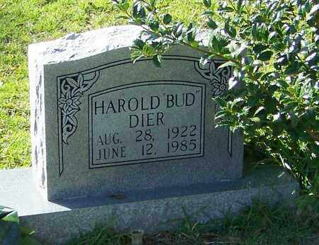 """DIER, HAROLD """"BUD"""" - Walthall County, Mississippi 