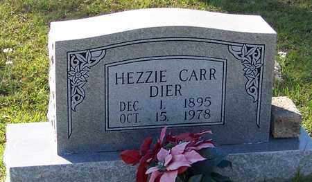 DIER, HEZZIE CARR - Walthall County, Mississippi | HEZZIE CARR DIER - Mississippi Gravestone Photos