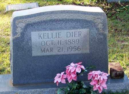 DIER, KELLIE - Walthall County, Mississippi | KELLIE DIER - Mississippi Gravestone Photos