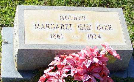 "DIER, MARGARET ""SIS"" - Walthall County, Mississippi 