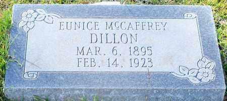 MCCAFFREY DILLON, EUNICE - Walthall County, Mississippi   EUNICE MCCAFFREY DILLON - Mississippi Gravestone Photos