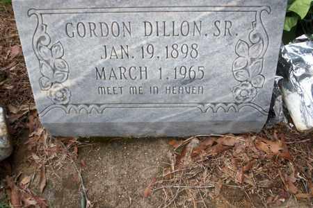 DILLON, GORDON SR - Walthall County, Mississippi   GORDON SR DILLON - Mississippi Gravestone Photos