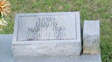 DIXON (CLOSE UP), ERVIN - Walthall County, Mississippi | ERVIN DIXON (CLOSE UP) - Mississippi Gravestone Photos