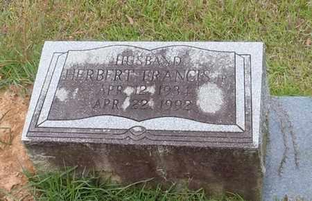 DOVIC (CLOSE UP), HERBERT FRANCIS JR - Walthall County, Mississippi | HERBERT FRANCIS JR DOVIC (CLOSE UP) - Mississippi Gravestone Photos