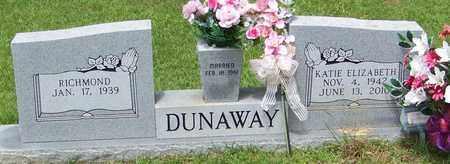 DUNAWAY, KATIE ELIZABETH - Walthall County, Mississippi | KATIE ELIZABETH DUNAWAY - Mississippi Gravestone Photos