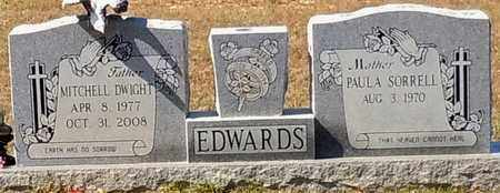 EDWARDS, MITCHELL DWIGHT - Walthall County, Mississippi   MITCHELL DWIGHT EDWARDS - Mississippi Gravestone Photos