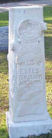 ESTES, WILLIS G - Walthall County, Mississippi   WILLIS G ESTES - Mississippi Gravestone Photos