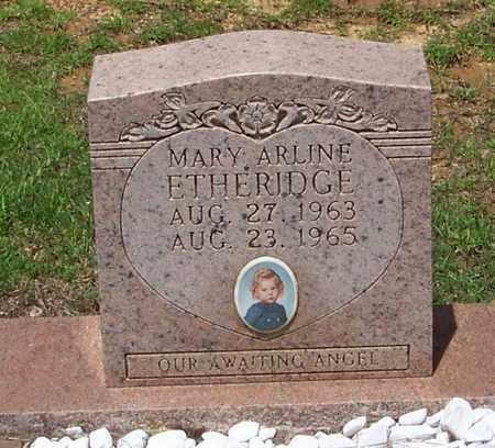 ETHERIDGE, MARY ARLINE - Walthall County, Mississippi | MARY ARLINE ETHERIDGE - Mississippi Gravestone Photos