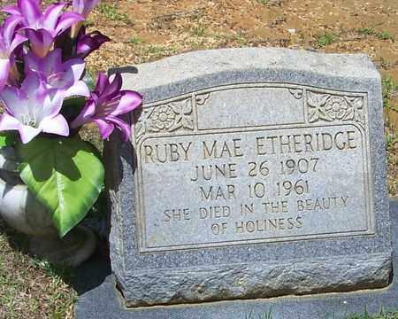 ETHERIDGE, RUBY MAE - Walthall County, Mississippi | RUBY MAE ETHERIDGE - Mississippi Gravestone Photos