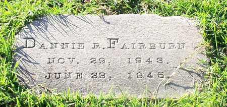 FAIRBURN, DANNIE R - Walthall County, Mississippi | DANNIE R FAIRBURN - Mississippi Gravestone Photos