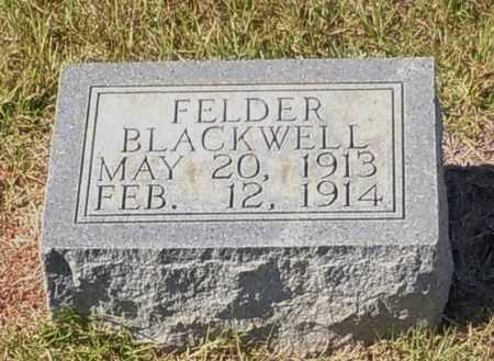 FELDER, BLACKWELL - Walthall County, Mississippi | BLACKWELL FELDER - Mississippi Gravestone Photos