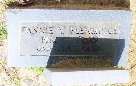 FLEMMINGS, FANNIE Y - Walthall County, Mississippi | FANNIE Y FLEMMINGS - Mississippi Gravestone Photos