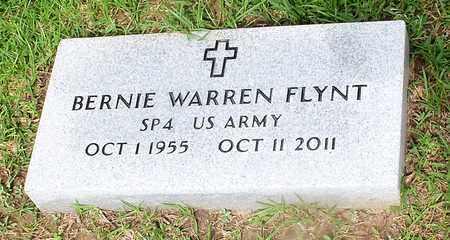FLYNT (VETERAN), BERNIE WARREN - Walthall County, Mississippi | BERNIE WARREN FLYNT (VETERAN) - Mississippi Gravestone Photos