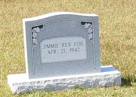 FOIL, JIMMIE REX - Walthall County, Mississippi | JIMMIE REX FOIL - Mississippi Gravestone Photos