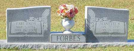 FORBES, EARL ENOS - Walthall County, Mississippi | EARL ENOS FORBES - Mississippi Gravestone Photos