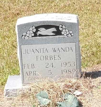 FORBES, JUANITA WANDA - Walthall County, Mississippi | JUANITA WANDA FORBES - Mississippi Gravestone Photos