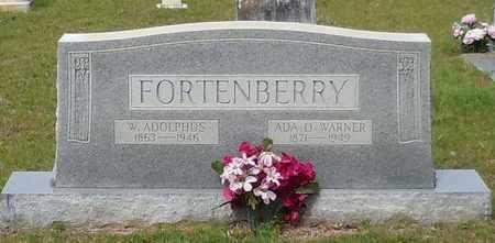 WARNER FORTENBERRY, ADA OPHELIA - Walthall County, Mississippi | ADA OPHELIA WARNER FORTENBERRY - Mississippi Gravestone Photos