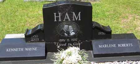 HAM, KENNETH WAYNE - Walthall County, Mississippi | KENNETH WAYNE HAM - Mississippi Gravestone Photos