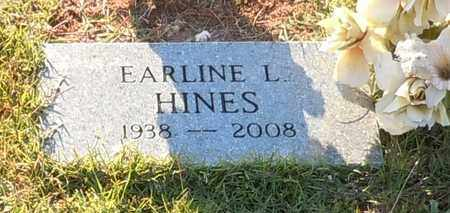 HINES, EARLINE - Walthall County, Mississippi | EARLINE HINES - Mississippi Gravestone Photos